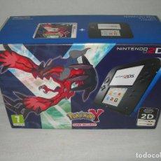 Videojuegos y Consolas Nintendo 2DS: CAJA VACÍA DE LA CONSOLA NINTENDO 2DS EDICIÓN POKEMON Y - NINTENDO 2 DS -. Lote 141125982