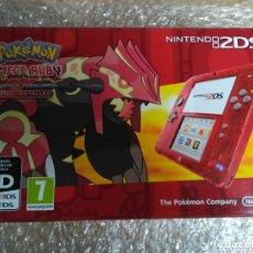 Videojuegos y Consolas Nintendo 2DS: CONSOLA NINTENDO 2DS EDICIÓN POKEMON OMEGA RUBY PAL VERSION NUEVA. Lote 141137122