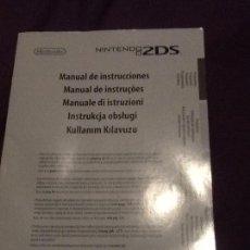 Videojuegos y Consolas Nintendo 2DS: MANUAL INSTRUCCIONES ECT NINTENDO 2DS. Lote 144063294