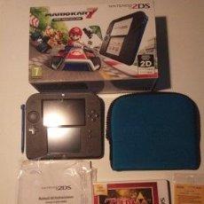 Videojuegos y Consolas Nintendo 2DS: NINTENDO 2DS EDICIÓN ESPECIAL MARIO KART 7 + ZELDA: A LINK BETWEEN WORLDS (ENVÍO INCLUIDO). Lote 144253474