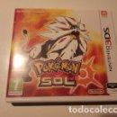 Videojuegos y Consolas Nintendo 2DS: POKEMON SOL, NINTENDO 3DS (N3DS) NINTENDO 2DS (N2DS). Lote 144256654
