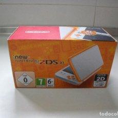 Videojuegos y Consolas Nintendo 2DS: NEW NINTENDO 2DS XL (BLANCO + NARANJA / WHITE + ORANGE) NUEVA. Lote 145535194
