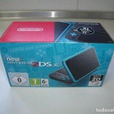 Videojuegos y Consolas Nintendo 2DS: NEW NINTENDO 2DS XL (NEGRO + TURQUESA / BLACK + TURQUOISE) NUEVA. Lote 148247226
