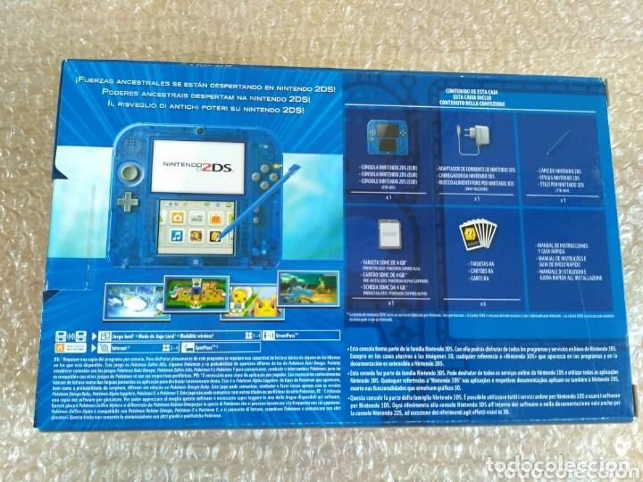 Videojuegos y Consolas Nintendo 2DS: CONSOLA NINTENDO 2DS EDICIÓN POKEMON ALPHA SAPPHIRE PAL VERSION NUEVA - Foto 2 - 149514046
