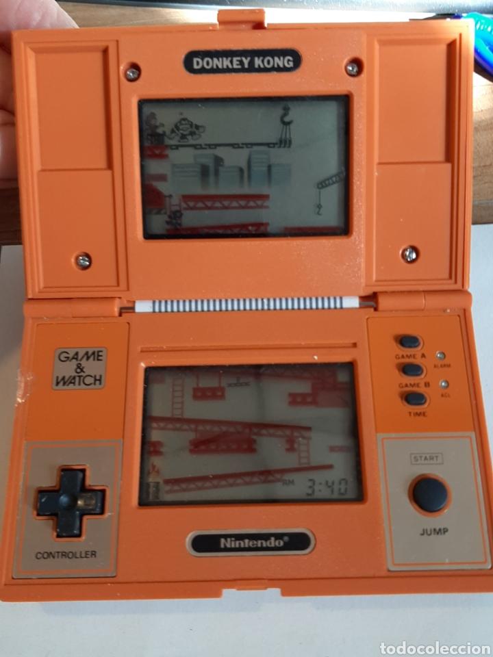 Videojuegos y Consolas Nintendo 2DS: NINTENDO DONKY KONG AÑOS 80 COLOR NARANJA - Foto 5 - 183815980