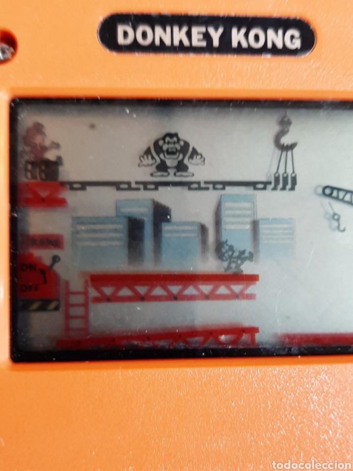 Videojuegos y Consolas Nintendo 2DS: NINTENDO DONKY KONG AÑOS 80 COLOR NARANJA - Foto 6 - 183815980