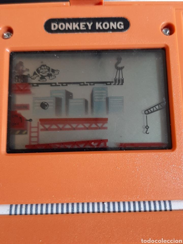 Videojuegos y Consolas Nintendo 2DS: NINTENDO DONKY KONG AÑOS 80 COLOR NARANJA - Foto 10 - 183815980