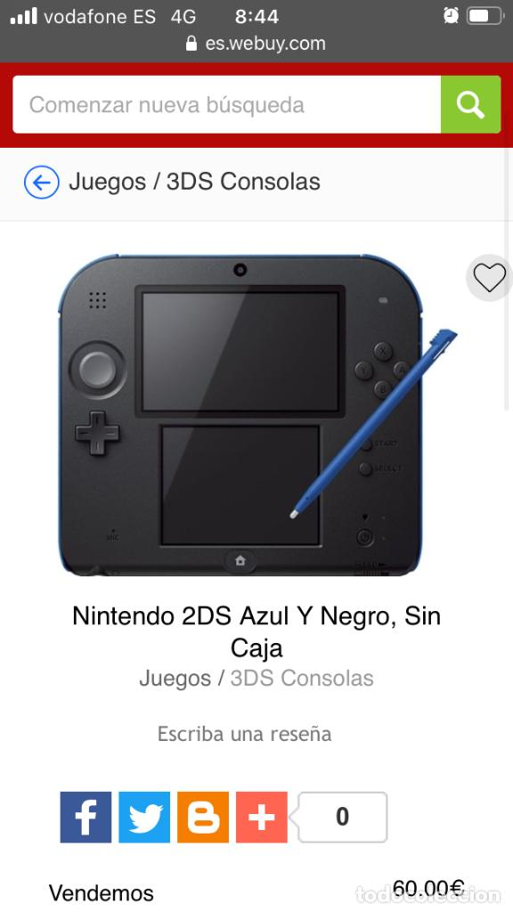 Videojuegos y Consolas Nintendo 2DS: NINTENDO 2DS AZUL NEGRA NEGRO CON SUPER MARIO PREINSTALADO LAPIZ CARGADOR MEMORIA KREATEN - Foto 6 - 193052503