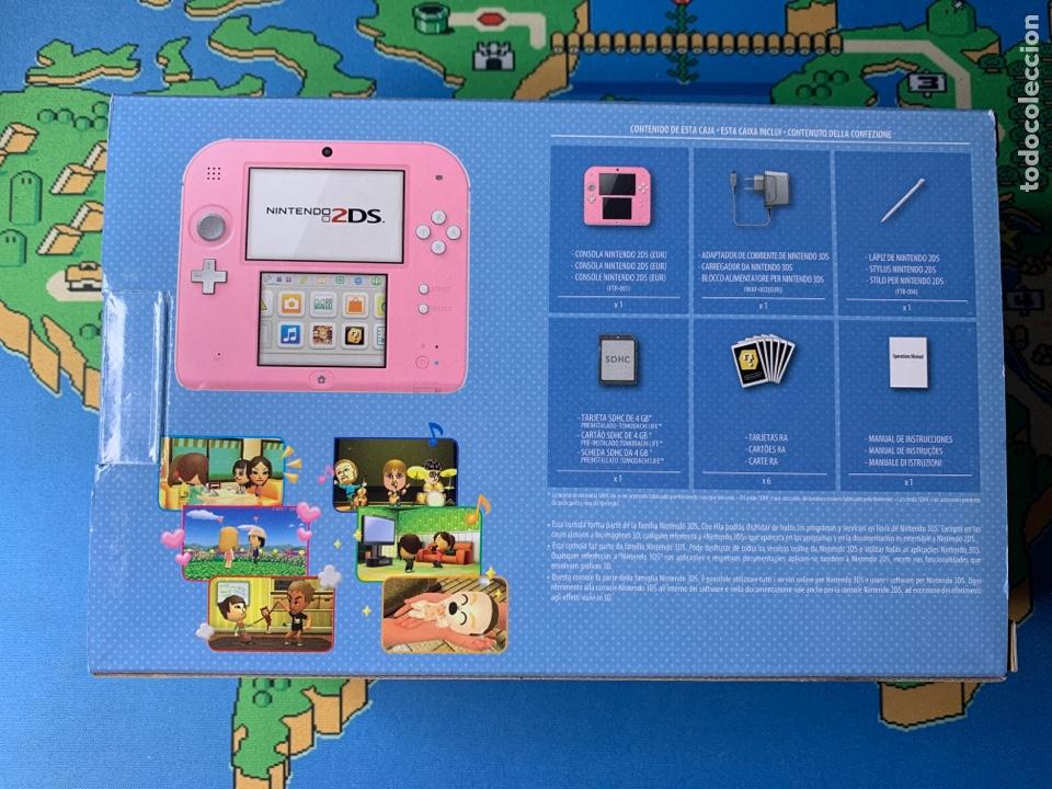 Videojuegos y Consolas Nintendo 2DS: Nintendo 2DS Tomadachi life ROSA NUEVA A ESTRENAR - Foto 2 - 201341207