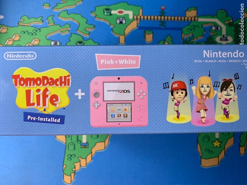 Videojuegos y Consolas Nintendo 2DS: Nintendo 2DS Tomadachi life ROSA NUEVA A ESTRENAR - Foto 5 - 201341207
