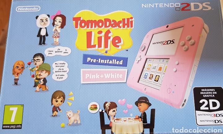 Videojuegos y Consolas Nintendo 2DS: NINTENDO 2 DS ROSA, CON JUEGO INSTALADO. PERFECTO FUNCIONAMIENTO. ACCESORIOS, MALETÍN, CARGADOR... - Foto 6 - 214115821