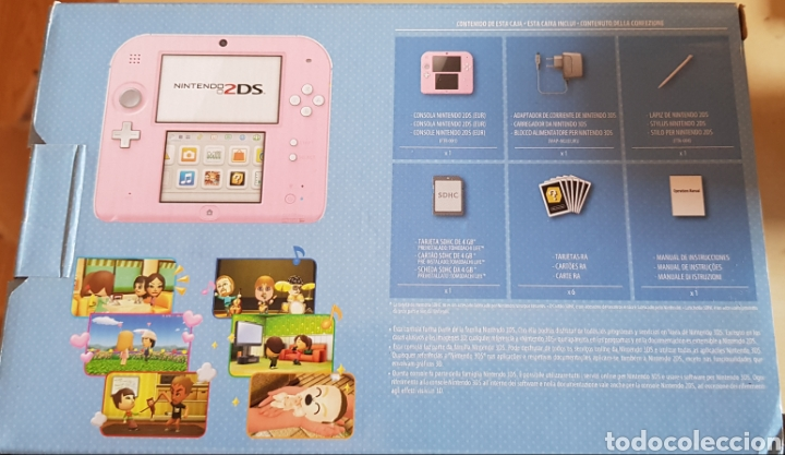 Videojuegos y Consolas Nintendo 2DS: NINTENDO 2 DS ROSA, CON JUEGO INSTALADO. PERFECTO FUNCIONAMIENTO. ACCESORIOS, MALETÍN, CARGADOR... - Foto 7 - 214115821