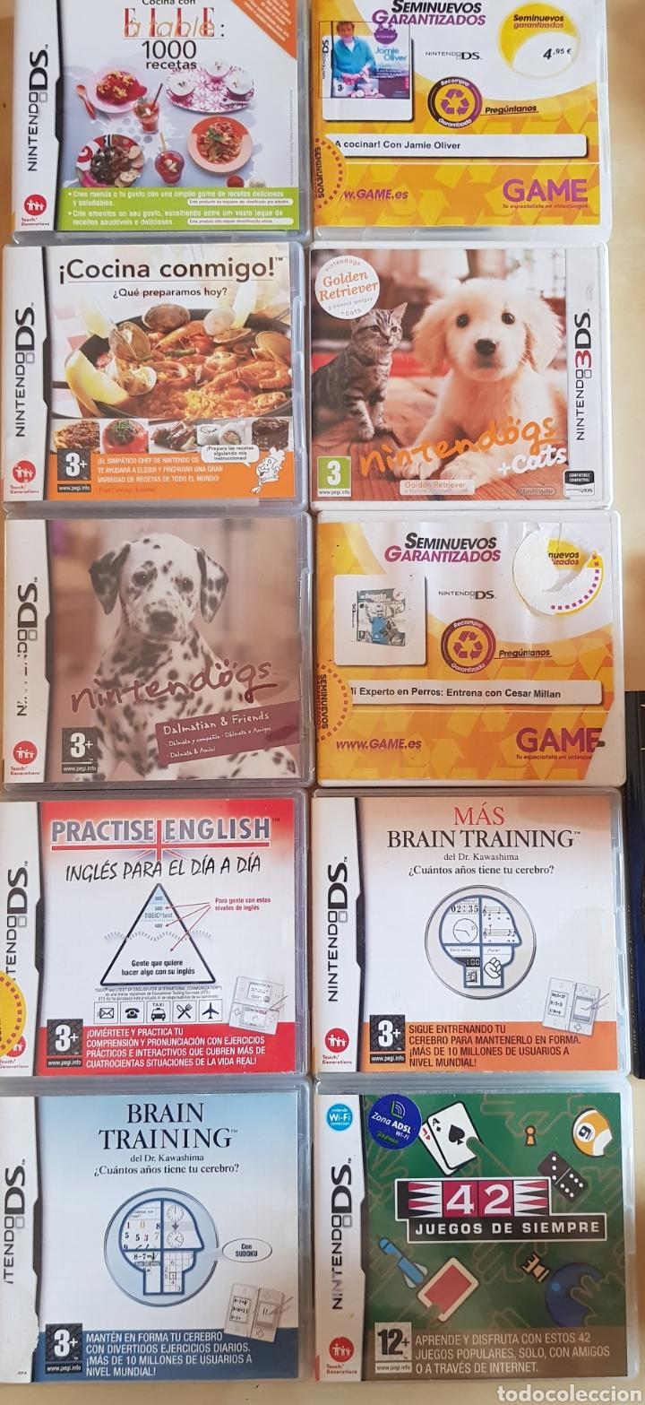 Videojuegos y Consolas Nintendo 2DS: NINTENDO 2 DS ROSA, CON JUEGO INSTALADO. PERFECTO FUNCIONAMIENTO. ACCESORIOS, MALETÍN, CARGADOR... - Foto 9 - 214115821