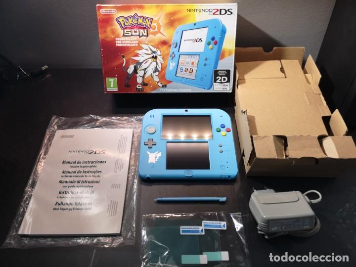 NINTENDO 2DS POKÉMON SUN CAJA (Juguetes - Videojuegos y Consolas - Nintendo - 2DS)