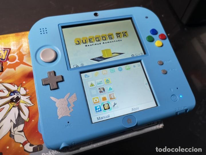 Videojuegos y Consolas Nintendo 2DS: Nintendo 2ds pokémon sun caja - Foto 2 - 214430646
