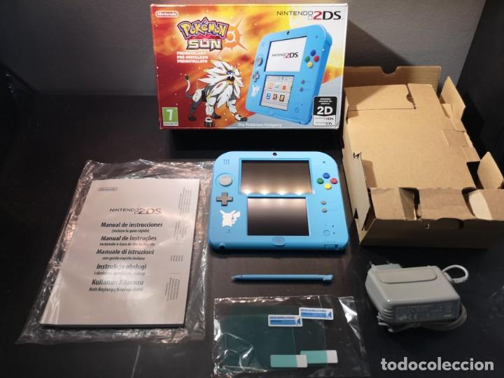 Videojuegos y Consolas Nintendo 2DS: Nintendo 2ds pokémon sun caja - Foto 3 - 214430646