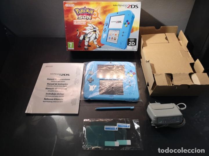 Videojuegos y Consolas Nintendo 2DS: Nintendo 2ds pokémon sun caja - Foto 7 - 214430646