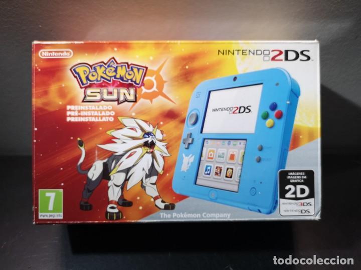 Videojuegos y Consolas Nintendo 2DS: Nintendo 2ds pokémon sun caja - Foto 14 - 214430646