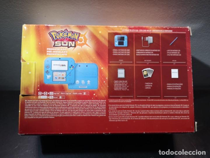 Videojuegos y Consolas Nintendo 2DS: Nintendo 2ds pokémon sun caja - Foto 15 - 214430646