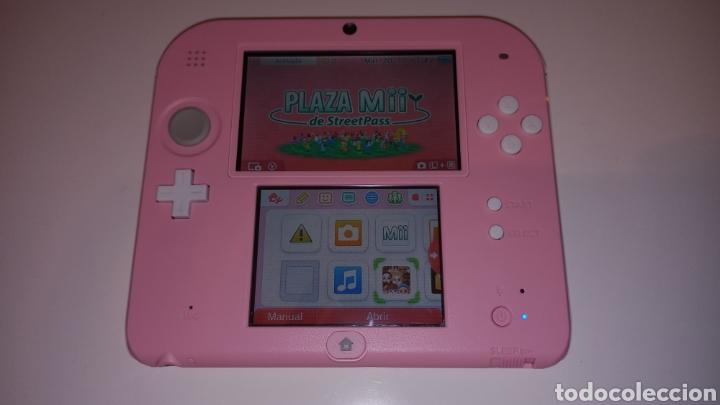 Videojuegos y Consolas Nintendo 2DS: Nintendo 2DS Rosa + Funda y Juegos - Foto 3 - 221710600
