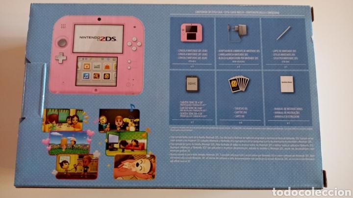 Videojuegos y Consolas Nintendo 2DS: Nintendo 2DS Rosa + Funda y Juegos - Foto 4 - 221710600