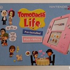 Videojuegos y Consolas Nintendo 2DS: NINTENDO 2DS ROSA + FUNDA Y JUEGOS. Lote 221710600