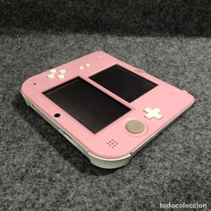 Videojuegos y Consolas Nintendo 2DS: CONSOLA NINTENDO 2DS ROSA+FUNDA+CARGADOR 3DS - Foto 4 - 224816335