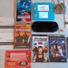 Videogiochi e Consoli: PSP Y NINTENDO 2DS, 6 JUEGOS, TIENE INSTALADOS ALGUNOS TAMBIÉN. Lote 248043030