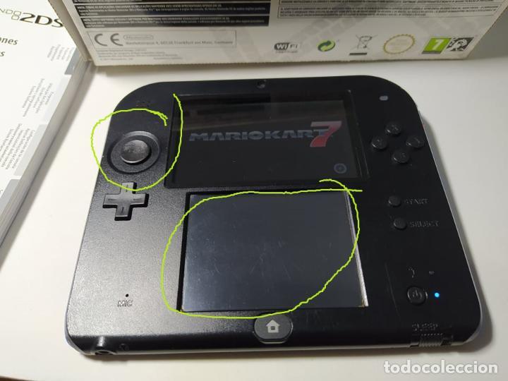 Videojuegos y Consolas Nintendo 2DS: Consola Nintendo 2DS + Mario Kart 7 ( sin cargador) - Envio certificado 4 euros ! - Foto 8 - 254750210