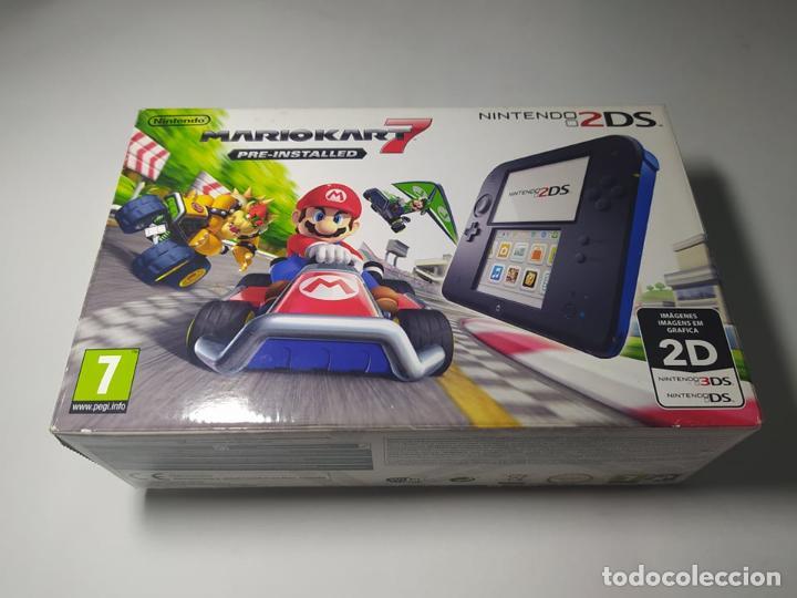CONSOLA NINTENDO 2DS + MARIO KART 7 ( SIN CARGADOR) - ENVIO CERTIFICADO 4 EUROS ! (Juguetes - Videojuegos y Consolas - Nintendo - 2DS)