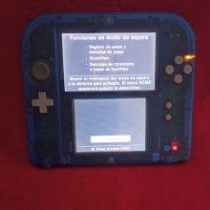 Videojuegos y Consolas Nintendo 2DS: CONSOLA NINTENDO 2DS EDICION ZAFIRO ALFA FUNCIONA. Lote 254794480