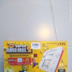 Videojuegos y Consolas Nintendo 2DS: NINTENDO 2DS SPECIAL EDITION MARIO BROS 2 NUEVA A ESTRENAR. Lote 261556285
