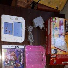 Videojuegos y Consolas Nintendo 2DS: NINTENDO 2DS PACK DE CONSOLA PORTÁTIL Y- BLANCA. Lote 263069290