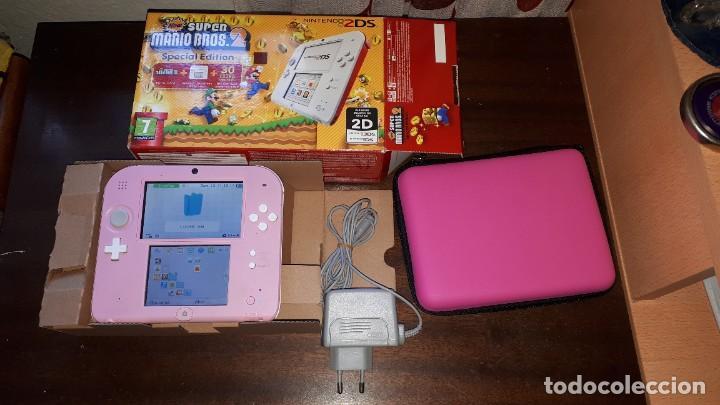 NINTENDO 2DS CON CARGADOR Y FUNDA NUEVA (Juguetes - Videojuegos y Consolas - Nintendo - 2DS)