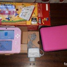 Videojuegos y Consolas Nintendo 2DS: NINTENDO 2DS CON CARGADOR Y FUNDA NUEVA. Lote 273749873