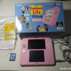 Videojuegos y Consolas Nintendo 2DS: CONSOLA NINTENDO 2DS ( EDICION TOMODACHI LIFE) + JUEGO + FUNDAS. Lote 277722738