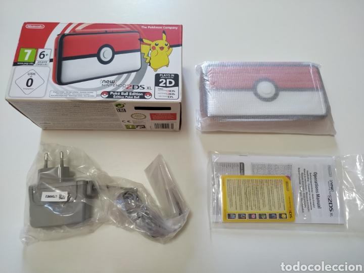 Videojuegos y Consolas Nintendo 2DS: Nintendo 2DS XL Pokeball edition nueva a estrenar - Foto 2 - 283186428