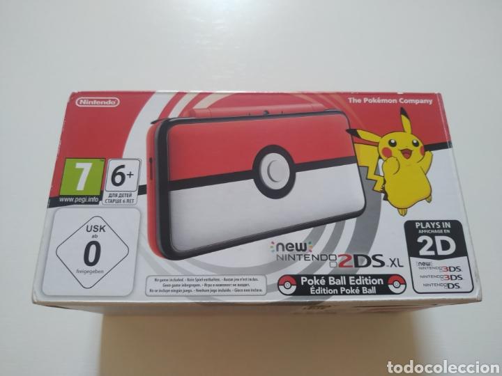 NINTENDO 2DS XL POKEBALL EDITION NUEVA A ESTRENAR (Juguetes - Videojuegos y Consolas - Nintendo - 2DS)