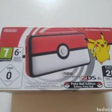 Videojuegos y Consolas Nintendo 2DS: NINTENDO 2DS XL POKEBALL EDITION NUEVA A ESTRENAR. Lote 283186428