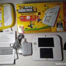 Videojuegos y Consolas Nintendo 2DS: CONSOLA NINTENDO 2DS ( CON CAJA + 15-20 JUEGOS) TARJETA 32GB. Lote 289262113