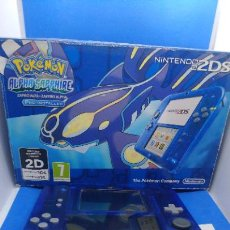 Videojuegos y Consolas Nintendo 2DS: POKEMON NINTENDO 2DS EDICION SAPHIRE PANTALLA ROTA. Lote 294480063