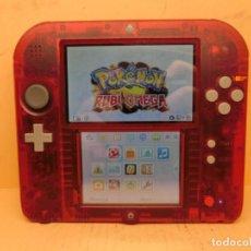 Videojuegos y Consolas Nintendo 2DS: NINTENDO 2DS EDICIÓN POKEMON OMEGA RUBI PAL ESP. Lote 295471208
