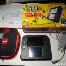 Videojuegos y Consolas Nintendo 2DS: CONSOLA NINTENDO 2DS + NEW MARIO BROS 2. Lote 295854398