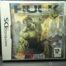Videojuegos y Consolas Nintendo 3DS XL: DS EL INCREIBLE HULK - PRECINTADO - NUEVO ( DSI - LITE - DSI - 3DS - XL ). Lote 39685829