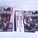 Videojuegos y Consolas Nintendo 3DS XL: TRANSFORMERS REVENGE OF FALLEN NINTENDO DS DSI 2DS 3DS XL PAL UK INGLÉS. Lote 57256259