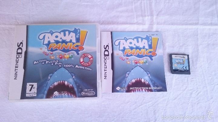 JUEGO COMPLETO AQUA PANIC NINTENDO DS DSI 2DS 3DS XL PAL UK INGLÉS (Juguetes - Videojuegos y Consolas - Nintendo - 3DS XL)