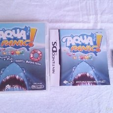 Videojuegos y Consolas Nintendo 3DS XL: JUEGO COMPLETO AQUA PANIC NINTENDO DS DSI 2DS 3DS XL PAL UK INGLÉS. Lote 57256322