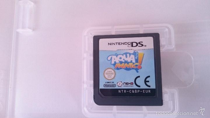 Videojuegos y Consolas Nintendo 3DS XL: JUEGO COMPLETO AQUA PANIC NINTENDO DS DSI 2DS 3DS XL PAL UK INGLÉS - Foto 3 - 57256322
