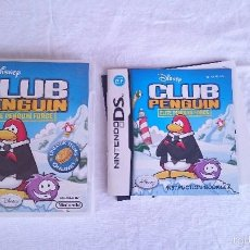 Videojuegos y Consolas Nintendo 3DS XL: DISNEY CLUB PENGUIN ELITE PENGUIN FORCE NINTENDO DS DSI 2DS 3DS XL PAL UK INGLÉS. Lote 57256379