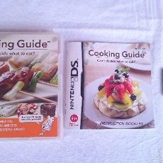 Videojuegos y Consolas Nintendo 3DS XL: JUEGO COMPLETO COOKING GUIDE NINTENDO DS DSI 2DS 3DS XL PAL UK INGLÉS. Lote 57256442